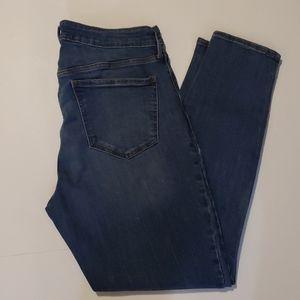 OLD NAVY Rockstar Super Skinny Jeans size 14